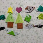 息子と折り紙遊びしました😄✨ピュア田原本店